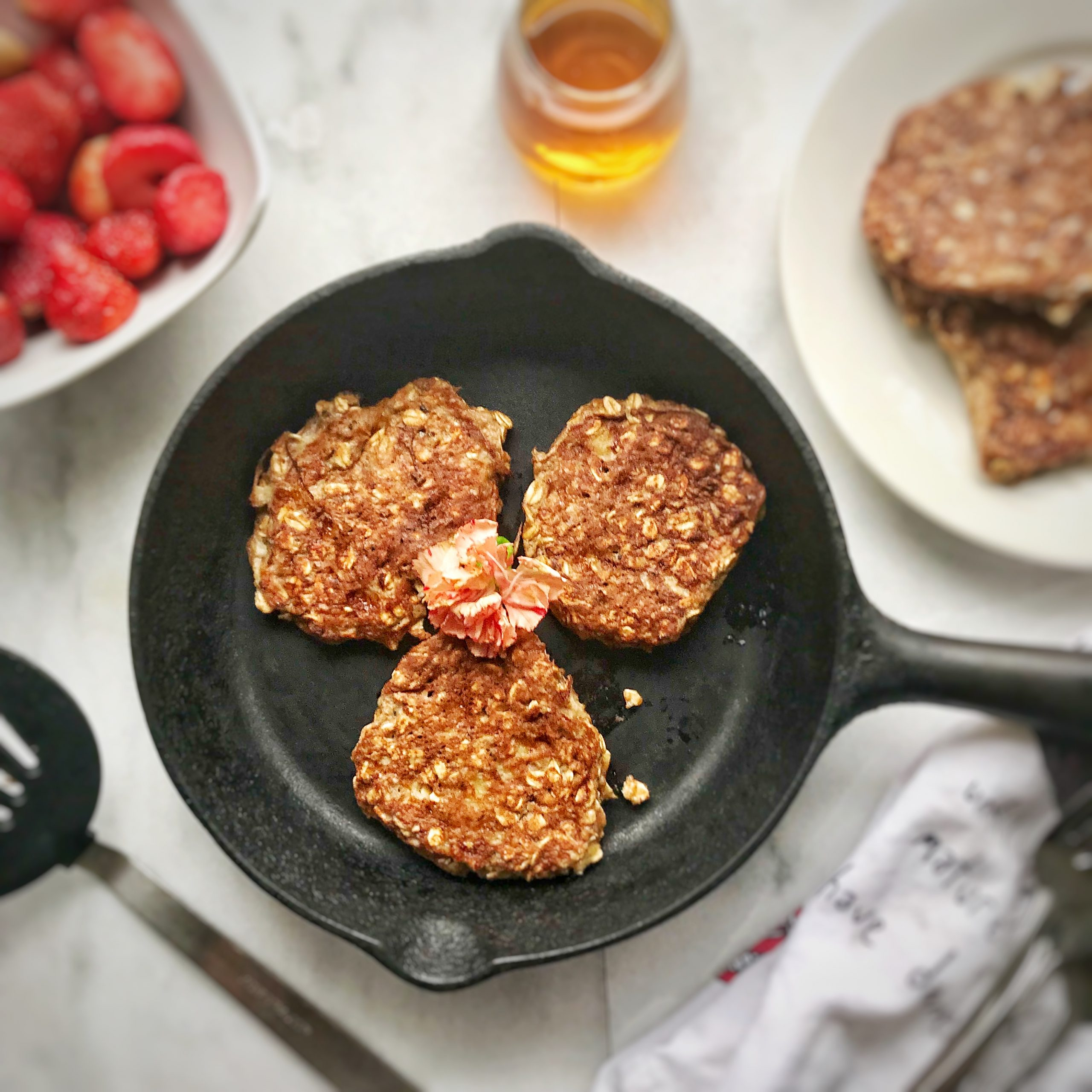 Gluten Free Protein Packed Pancakes