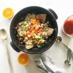 Sweet Orange Chicken with Carrots