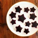 Fun and Healthy Jelly Stars on a plate