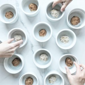 2. Almond Chia Butter Balls