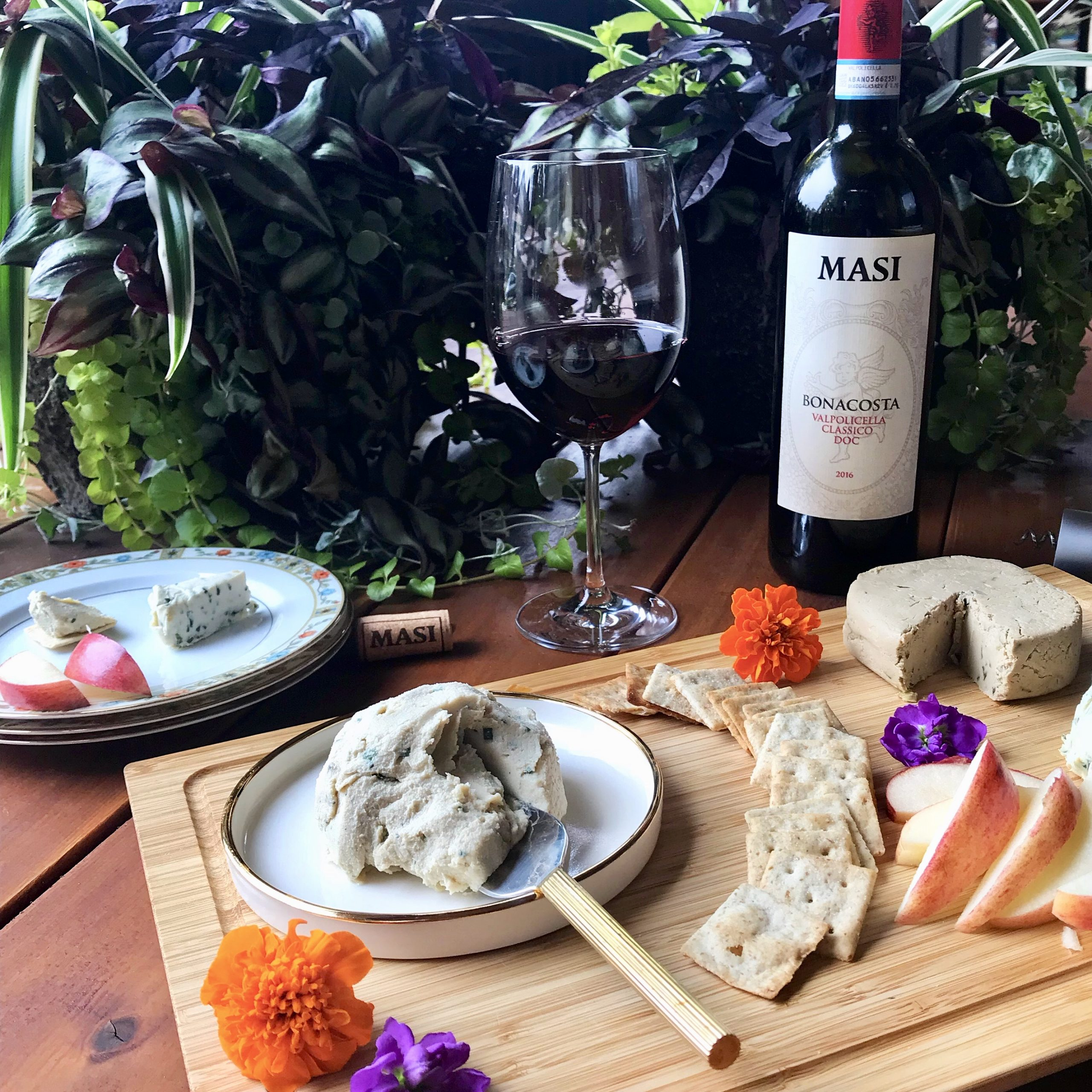 Vegan Cheese and Wine Pairing