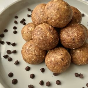 Hangry Helpers - Chocolate Chip Cookie Dough Energy Balls
