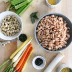 Ingredients for Vegan White Bean Cassoulet