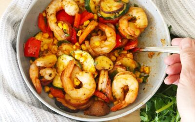 30 Minute Cajun Shrimp Foil Bake