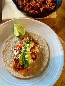 20 Minute Mexican Chorizo Tacos