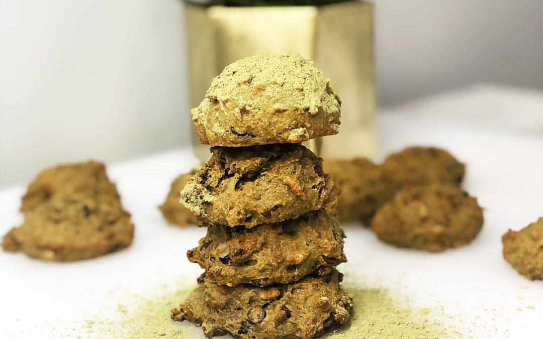 Matcha Breakfast Cookies
