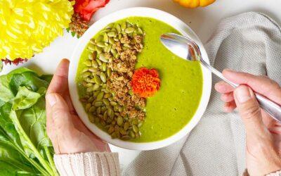 Green Pumpkin Spice Smoothie